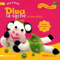 Henri Bosse - Diva la vache et ses amis... - Imagier, autocollants, jeux.