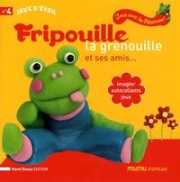 Henri Bosse - Fripouille la grenouille et ses amis... - Imagier, autocollants, jeux.