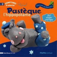 Henri Bosse - Pastèque l'hippopotame - Jeux, imagier, coloriages.
