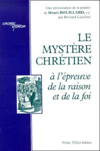 Henri Bouillard - .