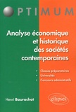 Henri Bourachot - Analyse économique et historique des sociétés contemporaines.