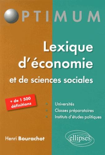 Henri Bourachot - Lexique d'économie et de sciences sociales.