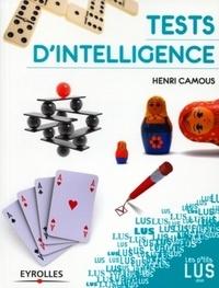 Henri Camous - Tests d'intelligence.