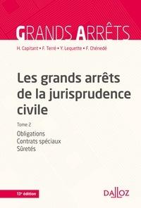 Henri Capitant et François Terré - Les grands arrêts de la jurisprudence civile T2 - Obligations, contrats spéciaux, sûretés.