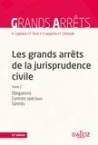Henri Capitant - Les grands arrêts de la jurisprudence civile T2 - Obligations, contrats spéciaux, sûretés.