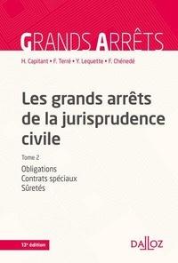 Henri Capitant et François Terré - Les grands arrêts de la jurisprudence civile - Tome 2, Obligations, contrats spéciaux, sûretés.