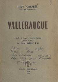 Henri Cazalet et Paul Sarrut - Valleraugue.