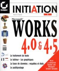 Works 4.0 et 4.5 - Henri Chêne pdf epub