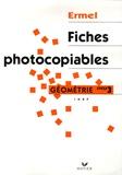 Henri-Claude Argaud et Roland Charnay - Apprentissages géométriques et résolution de problèmes au cycle 3 - Fiches photocopiables.