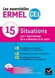 Henri-Claude Argaud et Jacques Douaire - Les essentielles CE1 - 15 situations pour l'apprentissage de la numération et du calcul. 1 Cédérom