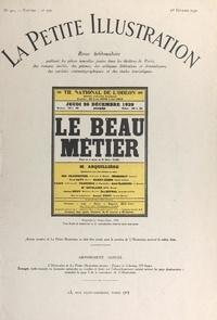 Henri Clerc et Robert de Beauplan - Le beau métier - Pièce en quatre actes jouée pour la première fois le 24 décembre 1929, au Théâtre national de l'Odéon.