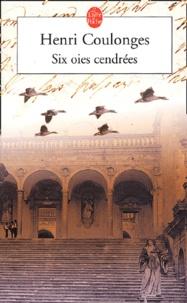 Henri Coulonges - Six oies cendrées.