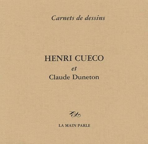 Henri Cueco - Carnet de dessins. - Fraises des Bois.