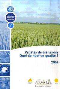 Goodtastepolice.fr Variétés de blé tendre - Quoi de neuf en qualité ? Image