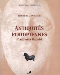 Deedr.fr Antiquités éthiopiennes - D'Axoum à Haoulti Image