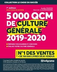 Henri de La Guéronnière et Aurélie Ohayon - 5000 QCM de culture générale.