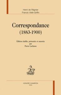 Henri de Régnier - Correspondance 1883-1900.