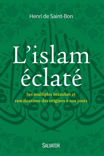 Henri de Saint-Bon - L'islam éclaté - Ses multiples branches et ramifications des origines à nos jours.