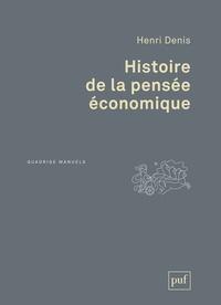 Henri Denis - Histoire de la pensée économique.