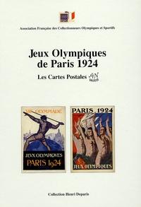 Henri Deparis - Les Jeux Olympiques de Paris 1924 - Les Cartes Postales.