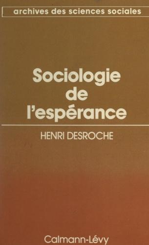 Sociologie de l'espérance