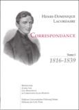 Henri-Dominique Lacordaire - .