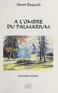 Henri Dupuch et René Pébernard - À l'ombre du Palmarium - Chronique paloise.