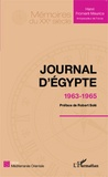 Henri Froment-Meurice - Journal d'Egypte - 1963-1965.