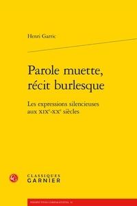 Histoiresdenlire.be Parole muette, récit burlesque - Les expressions silencieuses aux XIXe-XXe siècles Image