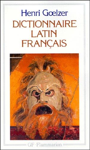 Henri Goelzer - Dictionnaire latin-français.