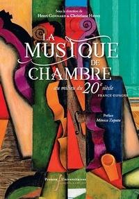 Henri Gonnard et Christiane Heine - La musique de chambre au milieu du 20e siècle - France-Espagne.