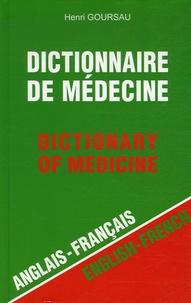 Histoiresdenlire.be Dictionnaire de médecine - Anglais-Français ; Français-Anglais Image