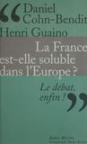 Henri Guaino et Daniel Cohn-Bendit - La France est-elle soluble dans l'Europe ?.