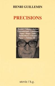 Henri Guillemin - Précisions.