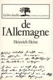 Henri Heine - De l'Allemagne.