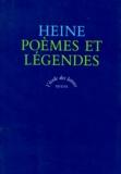 Henri Heine - Poèmes et légendes.