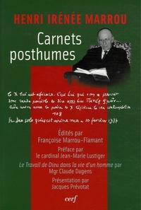 Henri-Irénée Marrou et Claude Dagens - Carnets posthumes.