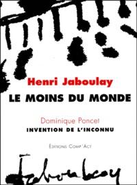 Henri Jaboulay et Dominique Poncet - .