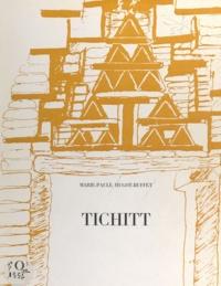 Henri-Jean Hugot et Marie-Paule Hugot-Buffet - Tichitt, Mauritanie du Sud-Est - Étude de la ville actuelle.