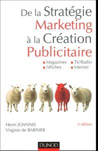 De la stratégie marketing à la création publicitaire - Magazines, Affiches, TV/Radio, Internet.pdf