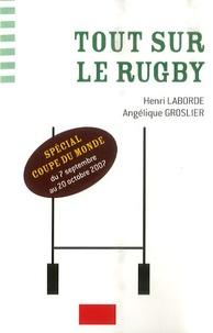 Henri Laborde et Angélique Groslier - Tout sur le rugby - spécial coupe du monde.