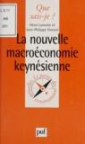 Henri Lamotte et Jean-Philippe Vincent - La nouvelle macroéconomie keynésienne.