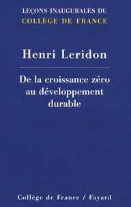 De la croissance zéro au développement durable.pdf