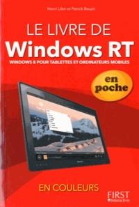 Henri Lilen et Patrick Beuzit - Livre de Windows RT en poche.