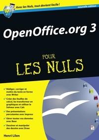 Henri Lilen - OpenOffice.org 3 pour les nuls.