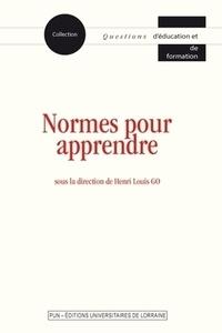 Henri-Louis Go - Normes pour apprendre.