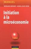 Henri-Louis Védie et Bernard Bernier - Initiation à la microéconomie.