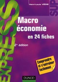 Henri-Louis Védie - Macroéconomie en 24 fiches.
