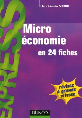 Henri-Louis Védie - Microéconomie.