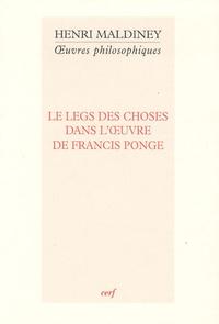 Histoiresdenlire.be Le legs des choses dans l'oeuvre de Francis Ponge Image